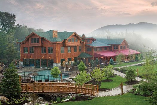 Whiteface Lodge Resort, Lake Placid, New York.   Love the pool! #Cheapflights2013