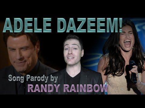 ADELE DAZEEM by RANDY RAINBOW - Song Parody - YouTube