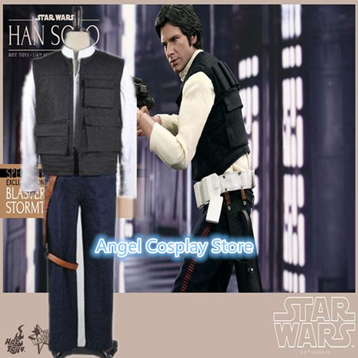 >> Click to Buy << Hallowmas Christmas Game Movie Anime Star Wars Han Solo ANH Costume Vest Shirt Pants Cosplay Custome Any Size NEW #Affiliate