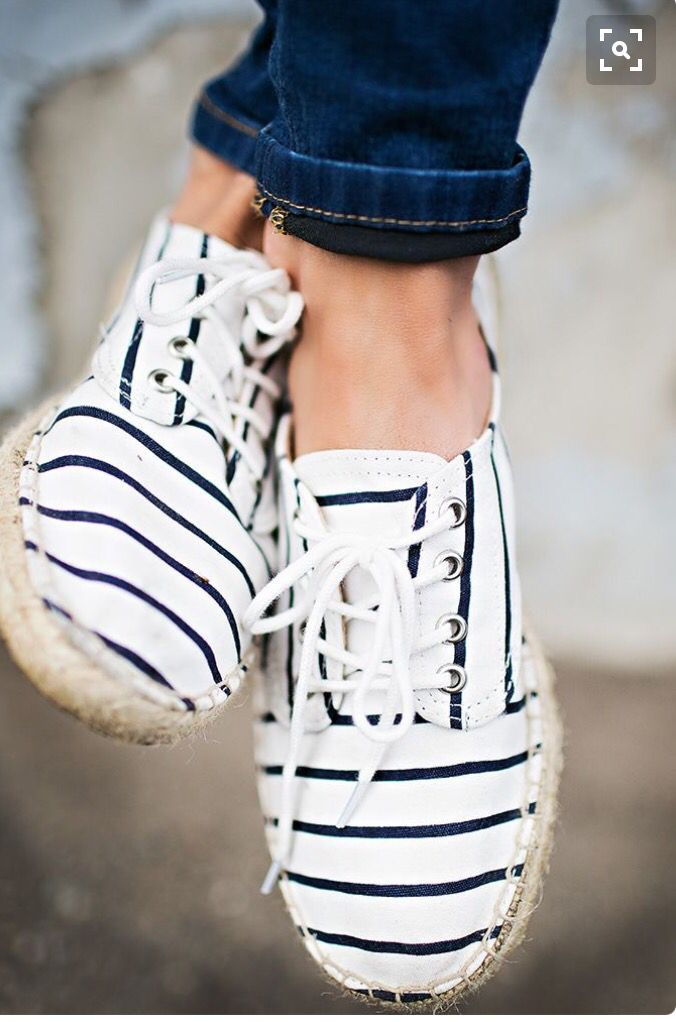 ~~~Love these Striped  Casual summer shoes  Stitch fix shoes. Stitch fix spring summer 2017 #affiliatelink