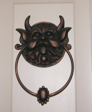Labyrinth Door knocker.  I need these like whoa.  But where can I buy them?