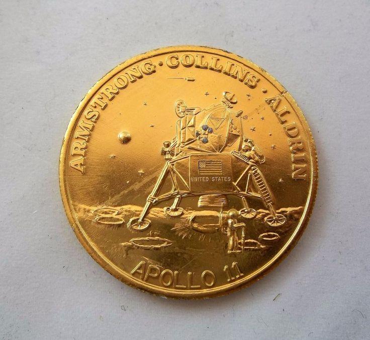 apollo xi commemorative token - photo #27