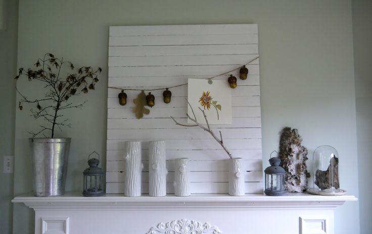 11 best mantel ideas for christmas images on pinterest - Mantel plastificado ikea ...