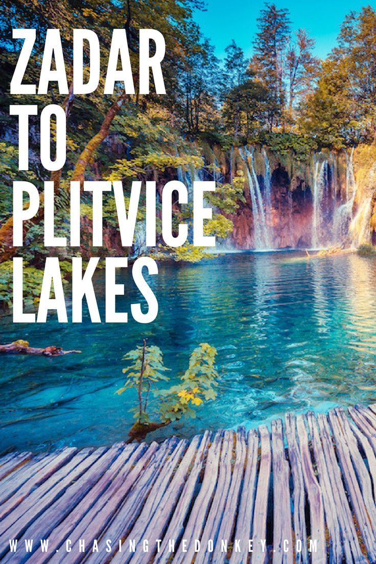 Croatia Travel Blog: Zadar is smack in the middle of #Croatia's famous national parks, and Plitvice Lakes National Park is just a day trip away when you make Zadar your home base. Here's how to travel from #Zadar to #PlitviceLakes. #TravelCroatia #Balkans