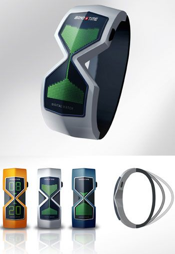 Hourglass Watch Concept Design