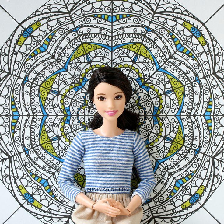 Minimagine: KALEIDOSCOPES#fashinistas #barbiefashionistas #barbiecillector #barbiemadetomove #mtmbarbie #dollphotography #doll