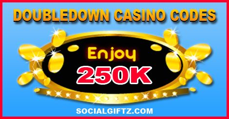250K Doubledown Casino Promo Codes 02.13.16