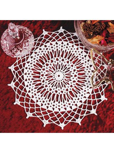 28 best Free Crochet Doily Patterns images on Pinterest | Thread ...