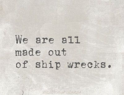 """""""And so we beat on, boats against the current, born back ceaselessly into the past"""" -F.S.Fitzgerald"""