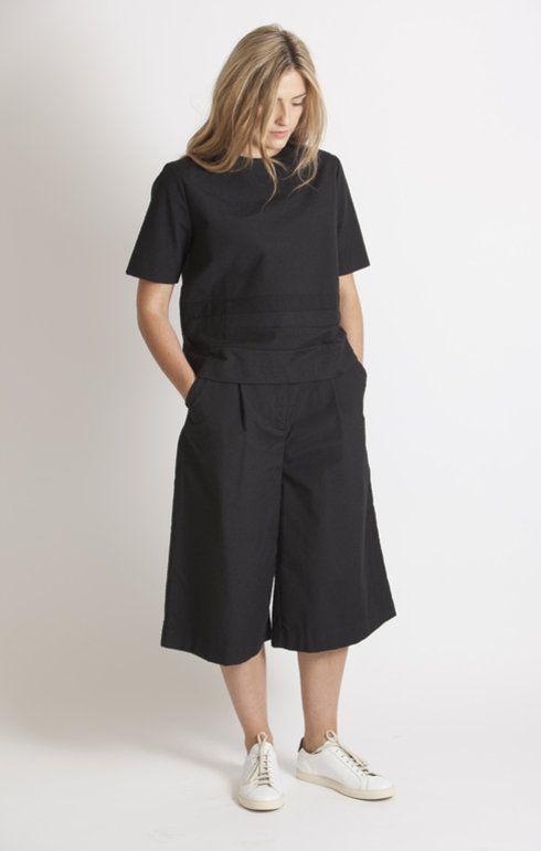 Norse Projects Petra Cotton Slub Back Trouser - Trousers