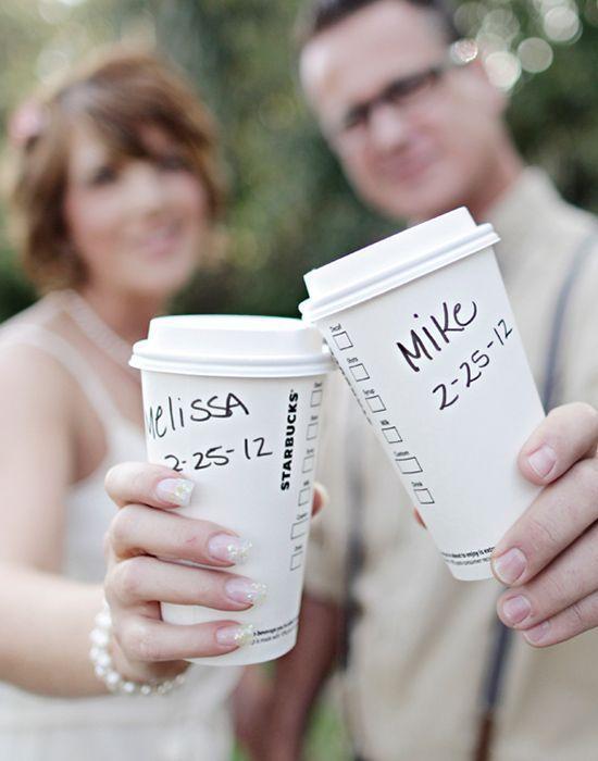 アメリカで流行中!スタバで挙式するカップルが続出しているらしいんです♡にて紹介している画像