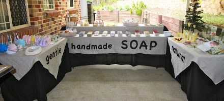 Soap stall
