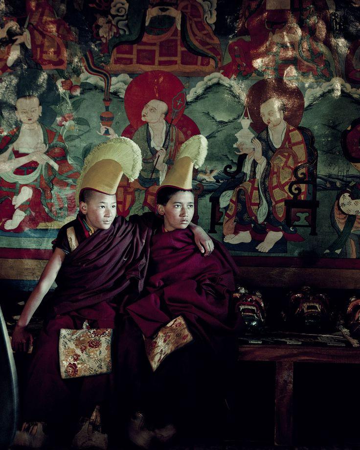 BEFORE THEY PASS AWAY - Ladakhi: Lekir Monastery, Ladakh