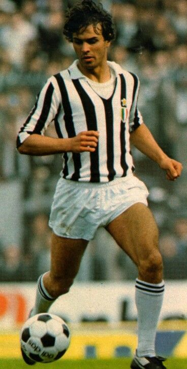 Antonio Cabrini of Juventus in 1980.