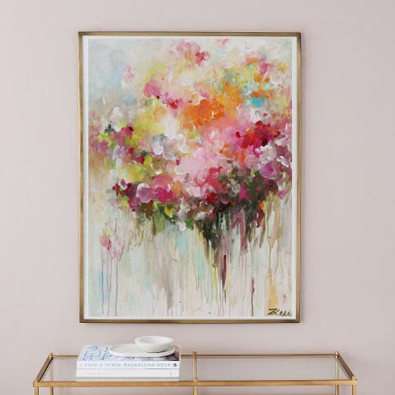 Abstract Painting Abstract Flower Painting Abstract Art Modern