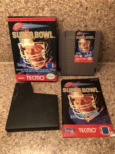 Tecmo Super Bowl Original Nintendo NES Complete In Box CIB w/ Manual Football: $42.99 End Date: Thursday Mar-15-2018 19:14:03 PDT Buy It…