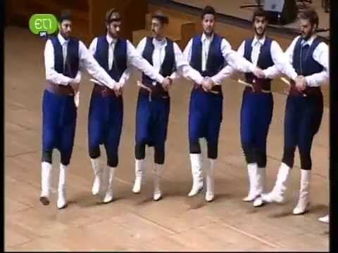 """""""Ανωγιανός Πηδηχτός/Πυρρίχιος"""" - Κουρήτες -  Μαρτσάκης Σκορδαλός (Cretan..."""