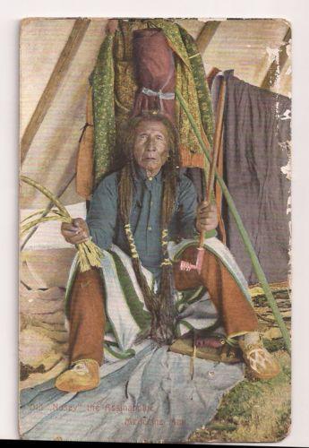 Old Nosey  The Assiniboine Medicine Man