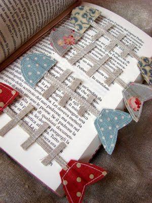 Fishbone bookmarks