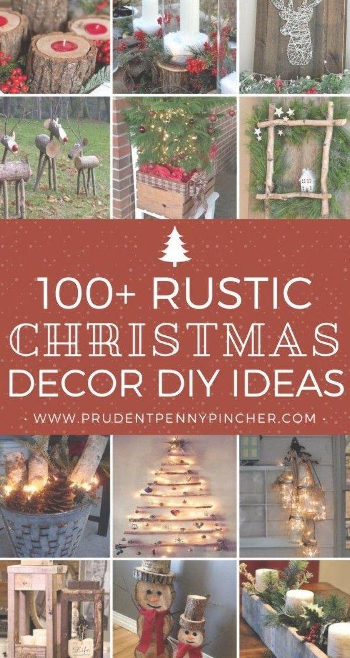 100 Best Rustic Diy Christmas Decorations Christmas