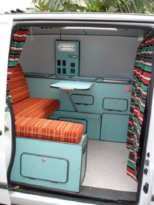 M s de 25 ideas incre bles sobre campistas en pinterest - Muebles para furgonetas camper ...