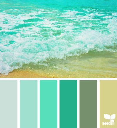 color surf- bathroom color scheme