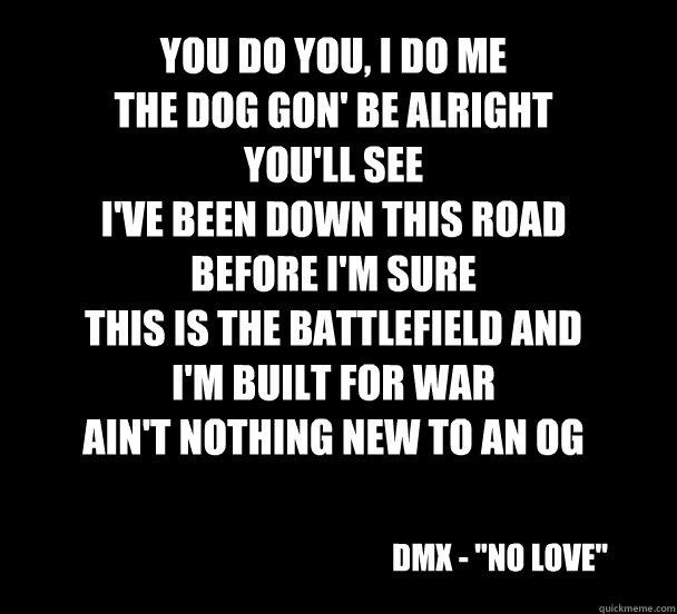 See dmx lyrics