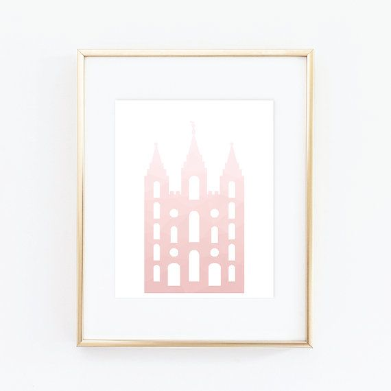Salt Lake Temple LDS Temples House of the Lord by QuotableStuff