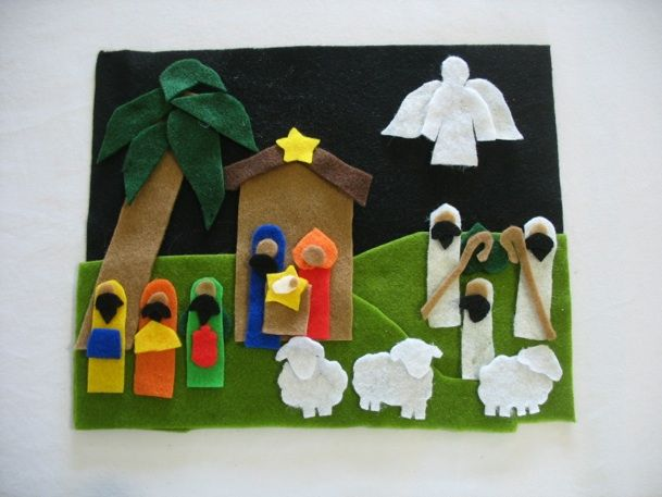 15 best images about advent nativity sets to make on for Nativity crafts to make