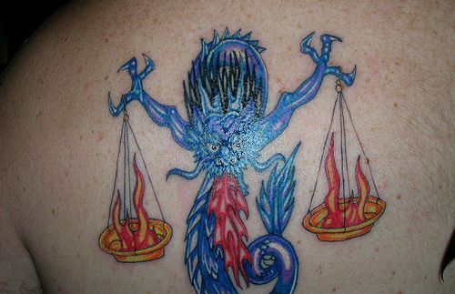 Pics Photos - Libra Tattoos And Tattoo Designs Bullseye Tattoos