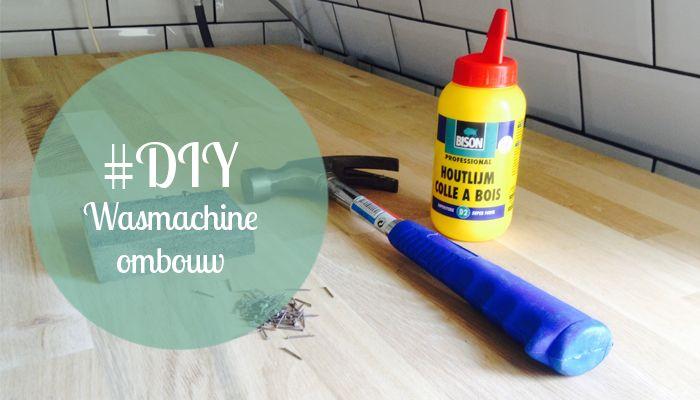 gereedschap wasmachine ombouw - Laundry room : Pinterest - Doe-het ...
