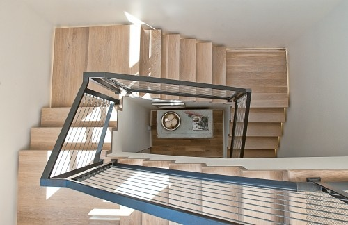 Best Metal Railing With Wood Stairs Country Modern Home 400 x 300