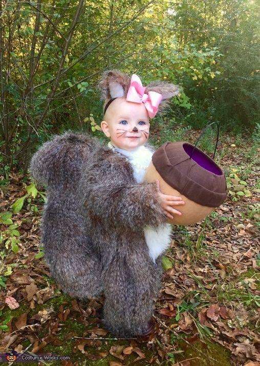 Baby Squirrel - 2015 Halloween Costume Contest via @costume_works