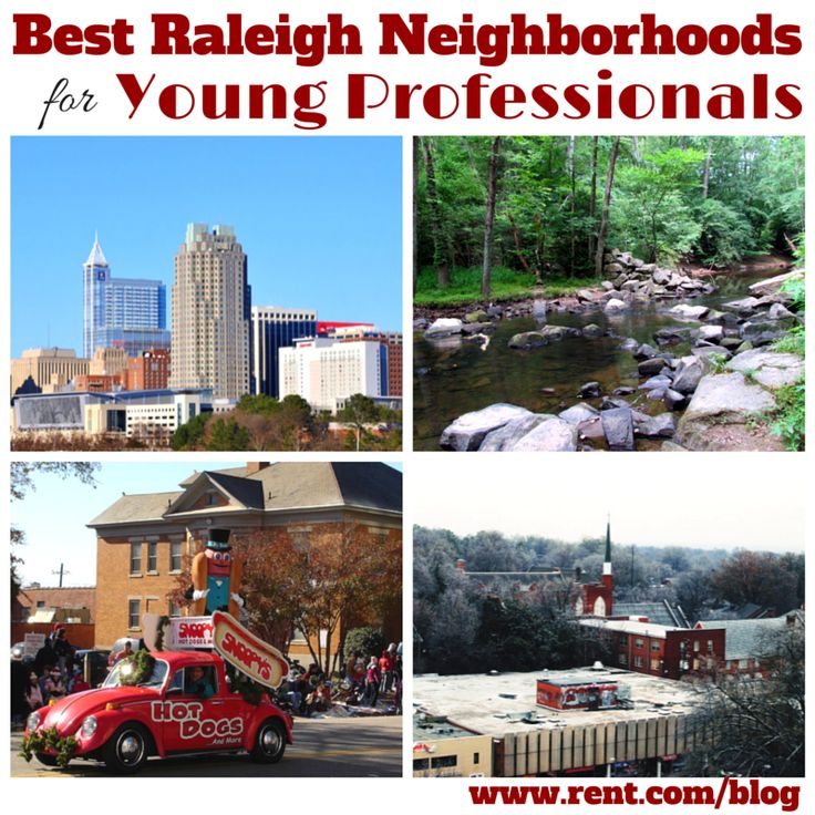 Best Raleigh Neighborhoods for Young Professionals - Trendy neighborhoods in Raleigh, North Carolina