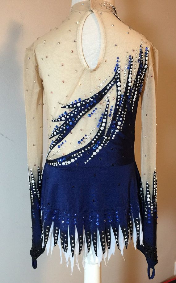 Competition Rhythmic Gymnastics Leotard SOLD by Savalia on Etsy $500