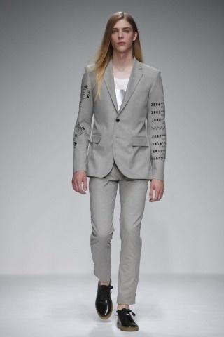 Matthew Miller @ London Menswear S/S 2013