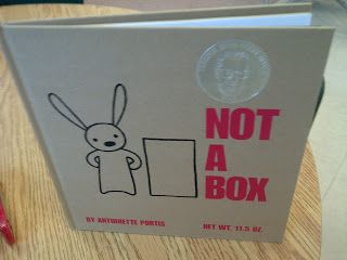 Kindergarten Inquiry PLC: NOT A BOX