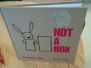 Kindergarten Inquiry PLC: NOT A BOX