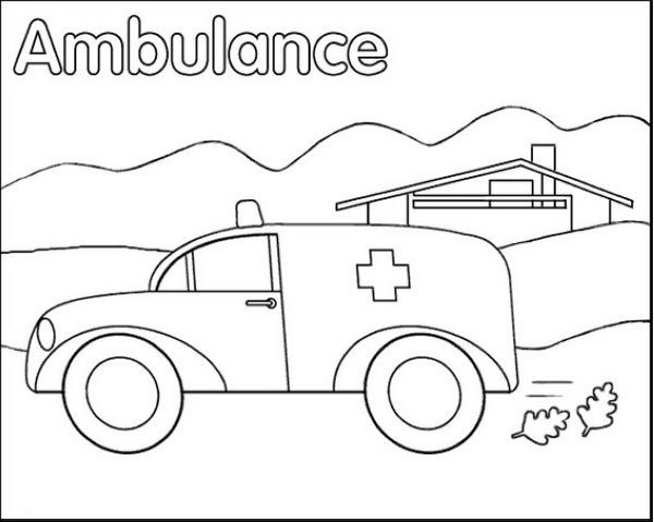 Free Ambulance Coloring Pages Printable Coloring Sheets For Kids Coloring Pages Halloween Coloring Pages