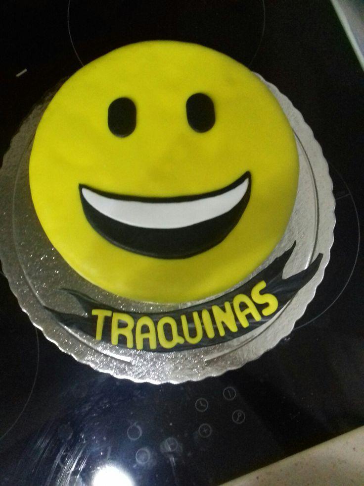 Emoji cake just smile