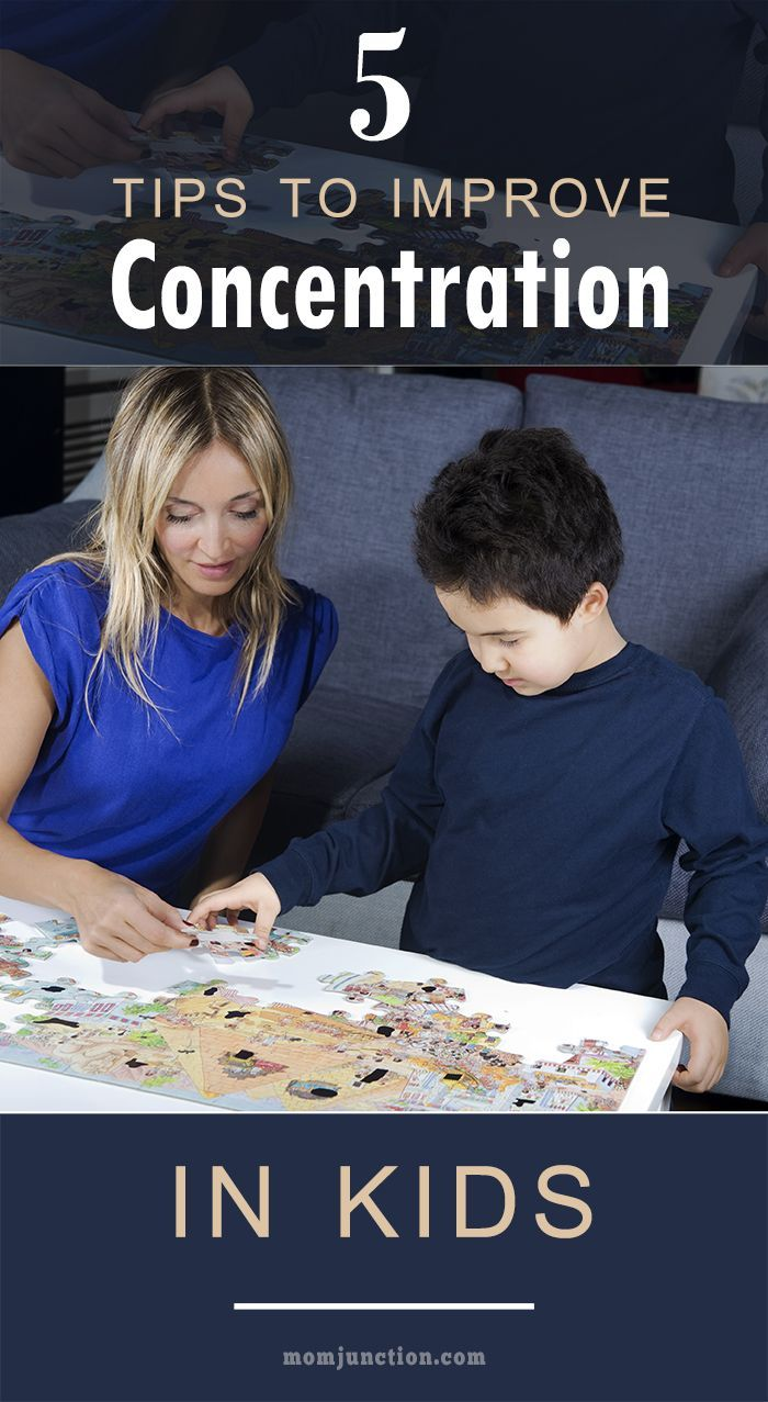 5 Useful Tips To Improve Concentration In Kids: Read on to know a few practical ways on how to improve concentration in kids! Want to know more? Read on! #Parenting