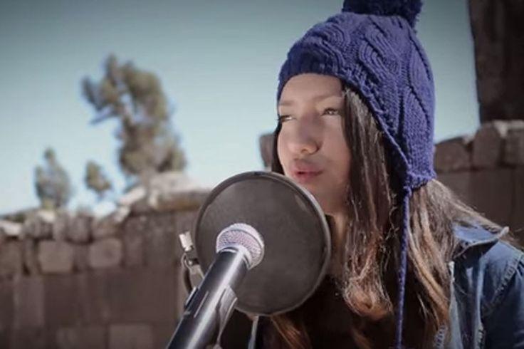 Fenómenos de la música Canción de Michael Jackson cantada en quechua revoluciona las redes Renata Flores Rivera, la adolescente peruana que causa sensación con sus covers de rock en su lengua ancestral