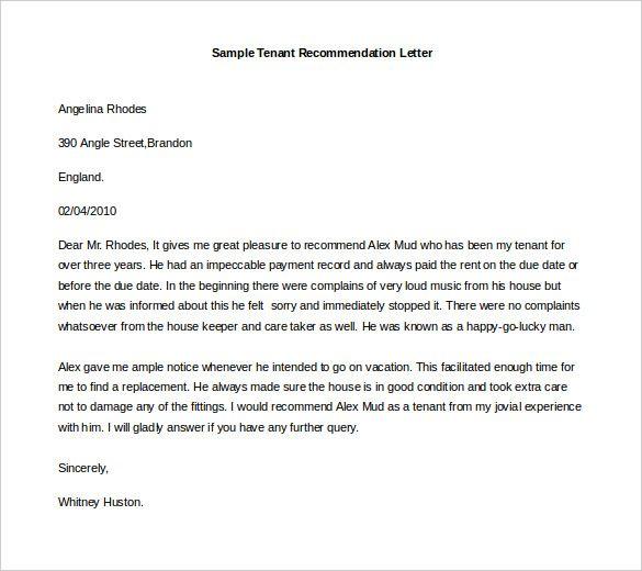 Image result for recommendation letter format