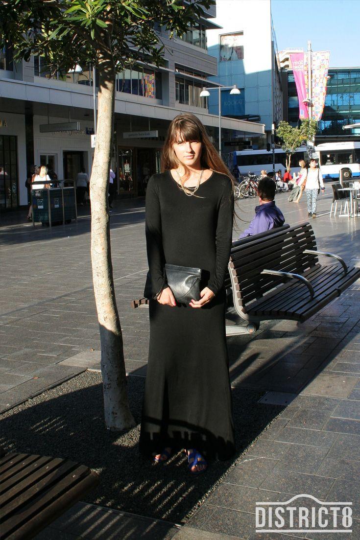 Ida. District - BONDI JUNCTION, Sydney. Dress - Vintage, Shoes - Finland #Street #Style #Fashion #Vintage