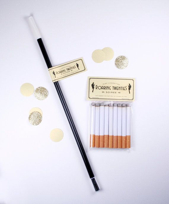 Roaring Twenties Great Gatsby Party Puff Cigarette Holder by JacksMaster, $6.00