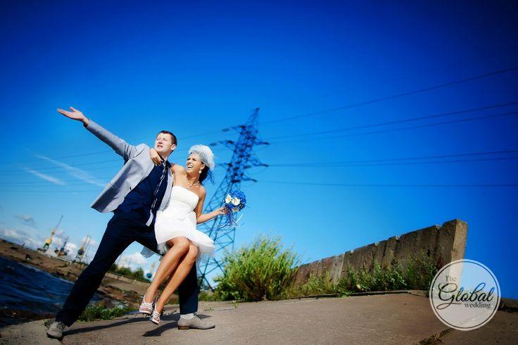 Короткое свадебное платье. Short wedding dress