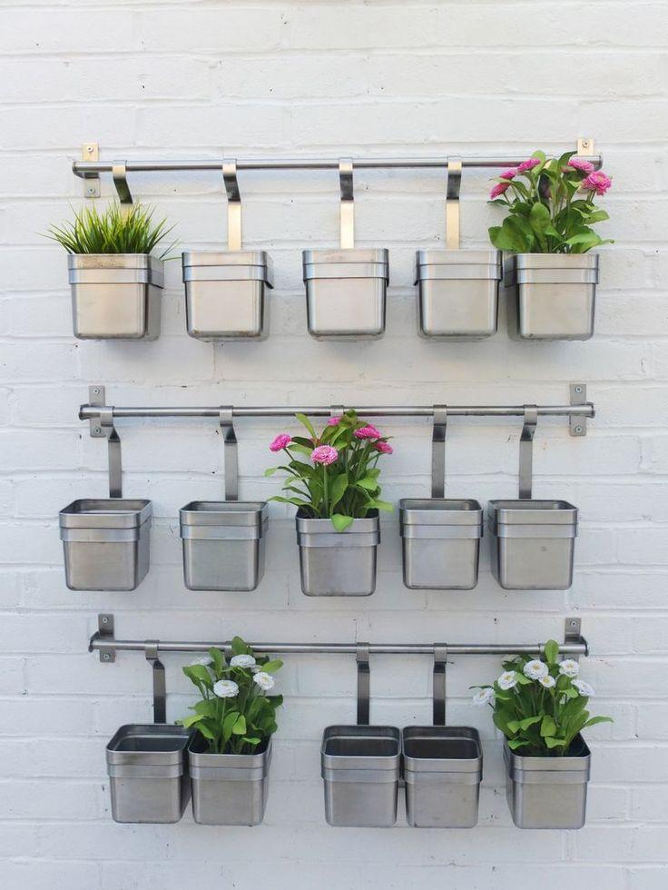Garden herb wall - 25+ Best Ideas About Garden Wall Planter On Pinterest Wall