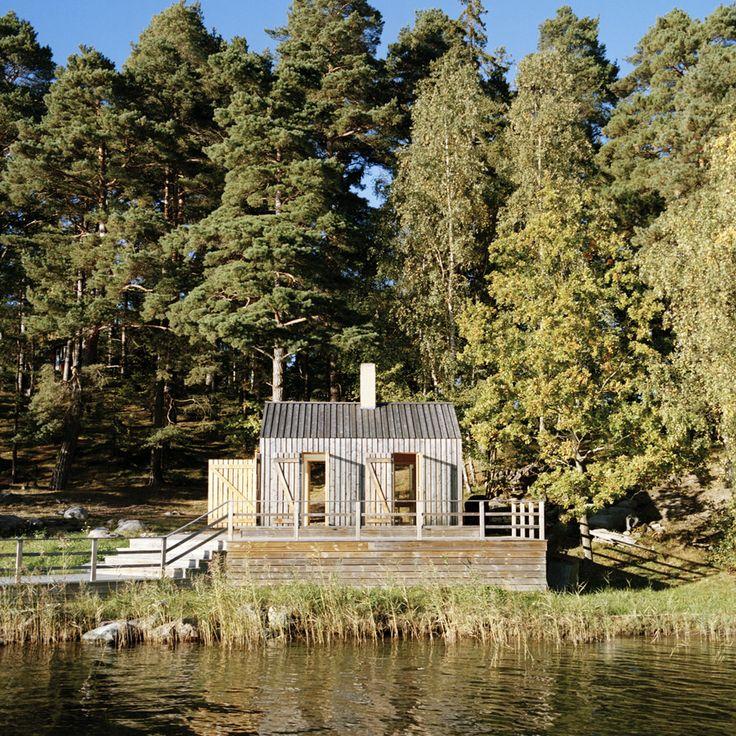 Sauna in Stockholm Archipelago, Sweden designed by General Architecture. #2