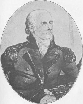 Lieut-Gov Philip Gidley King arrived in Australia with his wife Anna and daughter on the convict ship Speedy in 1800