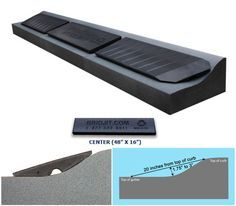 This Add-On Extension for Driveway Curb Ramps will compliment the Driveway Curb Ramps as it allows you to expand the coverage area of the curb ramp kit. The